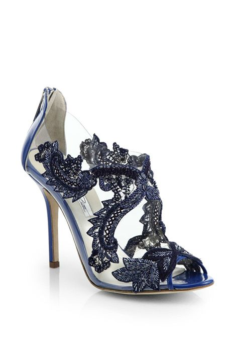 Beaded Applique PVC Booties By Oscarprgirl Are Feminine And Exciting For Weddings