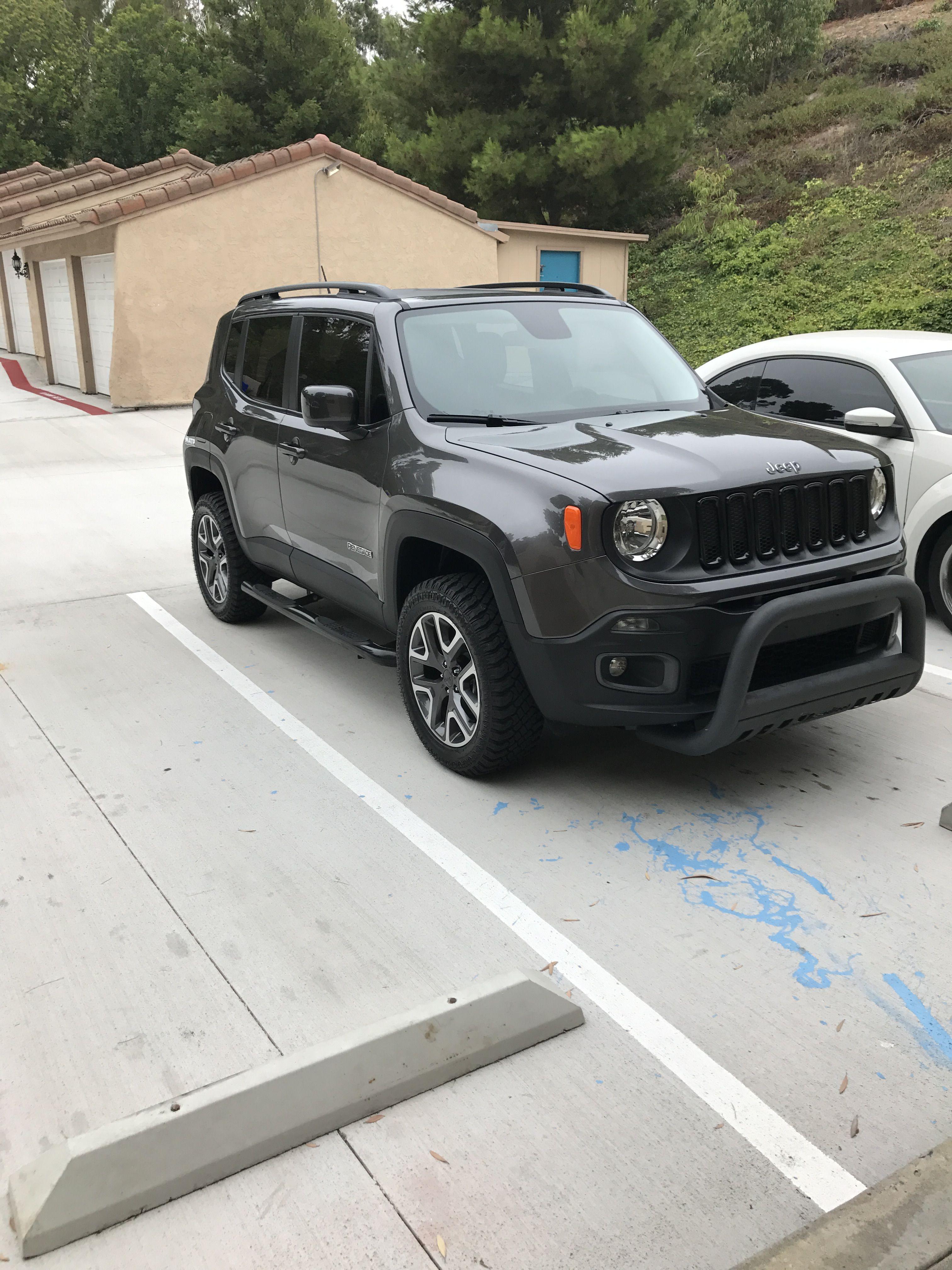 Jeep Renegade Bumper Guard : renegade, bumper, guard, Renegade, Lifted, Renegade,, Trailhawk,, Chrysler, Dodge