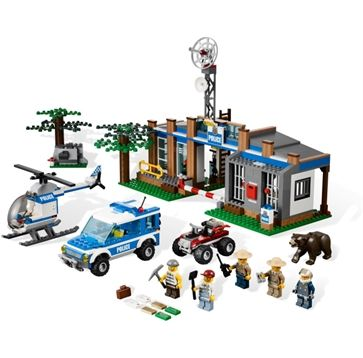 Buy Lego City Forest Police Station Product Online Australia | No i Deer Gifts