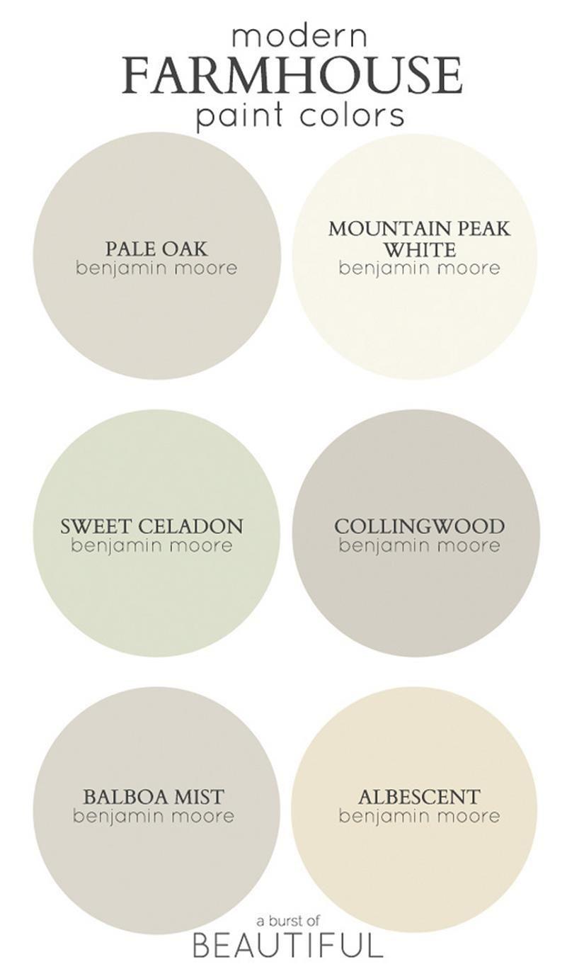 Traditional Farmhouse Interior And Exterior Colors Ideas 27 Farm House Colors Farmhouse Paint Inviting Home