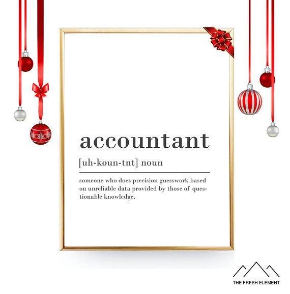 Funny Accountant Definition Print Printable DIGITAL Accountant Gift - fresh define blueprint design