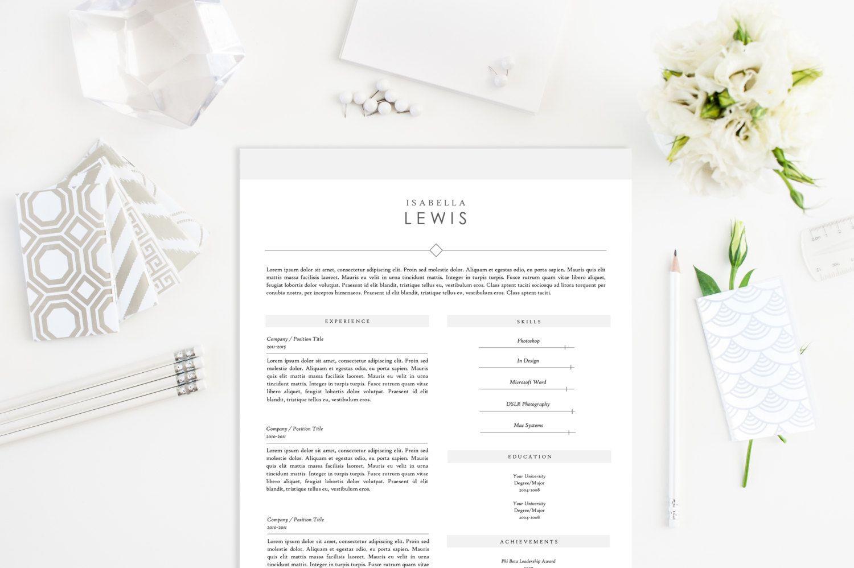 Classic Resume Template - Resumes - 1 | | designer\'s life ...