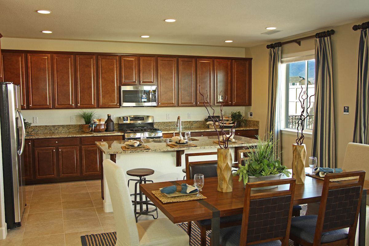 This Is What Dream Kitchens Are Made Of Plenty Of Cabinet Space Gorgeous Island And Stainless Steel Appliances Gorgeous Kitchens New Homes For Sale Lennar