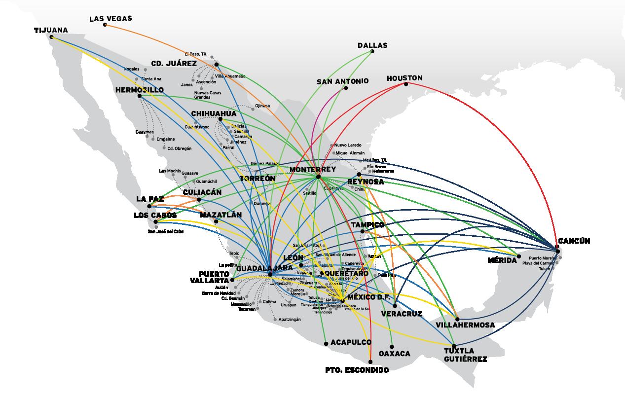 Destinos Vivaaerobus Vuelos Baratos Y Ofertas A Todo México Viajes Baratos Vuelos Aerobus