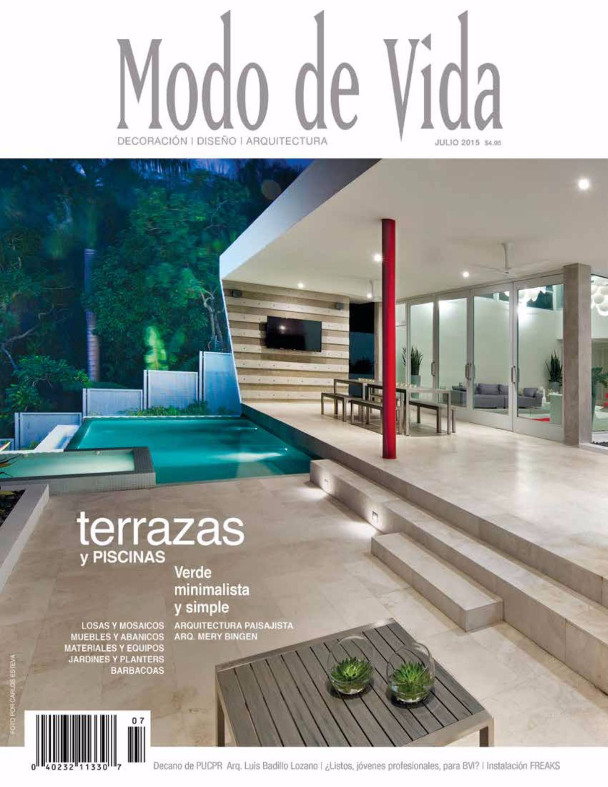 Revista modo de vida dise o decoraci n edicioines - Libros de decoracion de interiores gratis ...