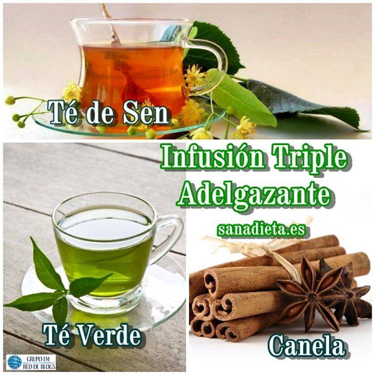 Infusiã N Triple Adelgazante Tã Verde Sen Y Canela Canela Para Adelgazar Te De Canela Adelgazante Natural