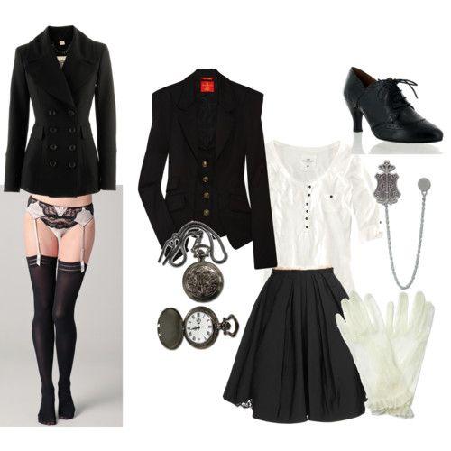 Sebastian Michaelis Black Butler Kuroshitsuji Girl Clothes | Styles U0026 Clothes | Pinterest ...