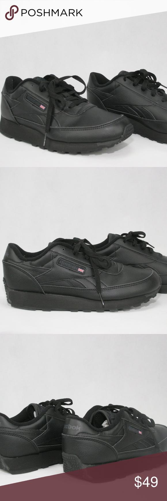c1153a0fc69 Womens Shoes Reebok Size 8.5 Reebok Classic Renaissance Black Femmes These womens  Reebok Renaissance shoes enhance