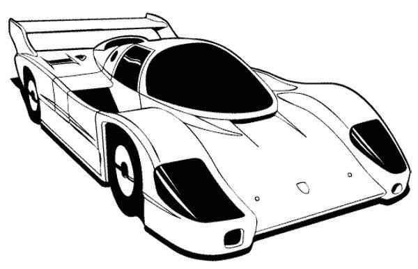 car racing free coloring pages - photo#30