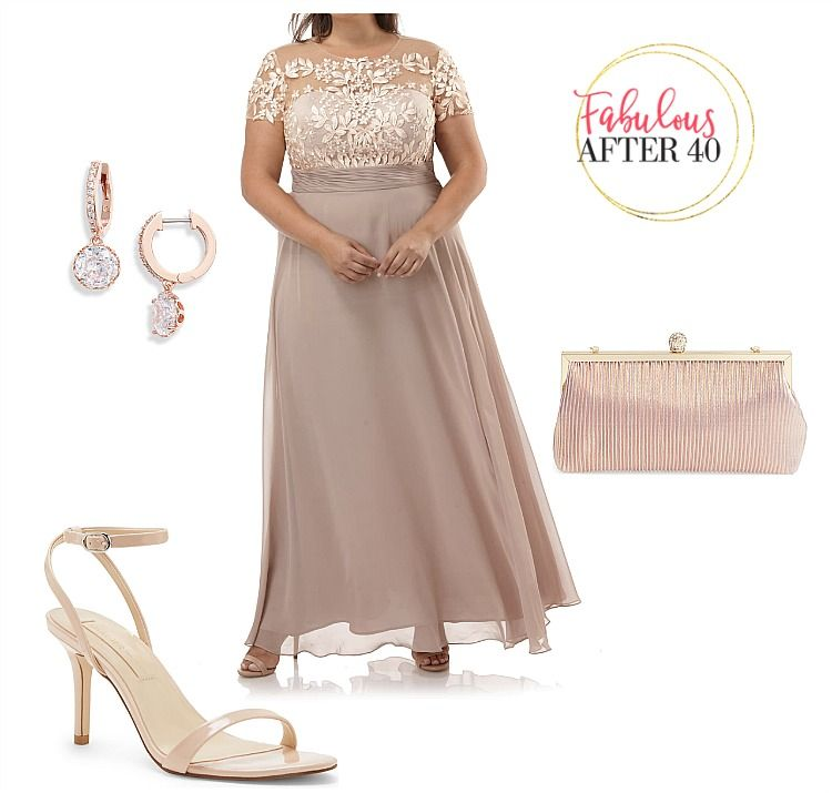 Classy plus size mother of the bride dresses for fall