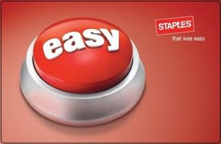 $50 Staples Gift Card for ONLY $40!