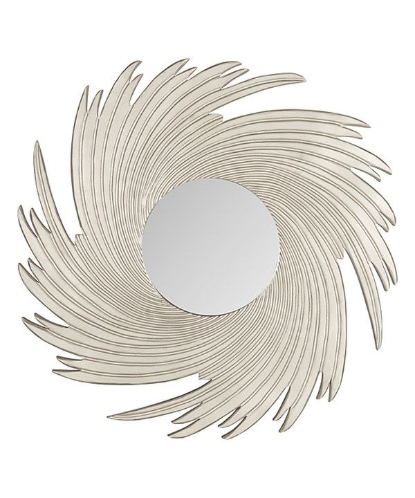 Pewter Allison Wall Mirror Zulily Mirror Wall Living Room Mirror Wall Rustic Wall Mirrors