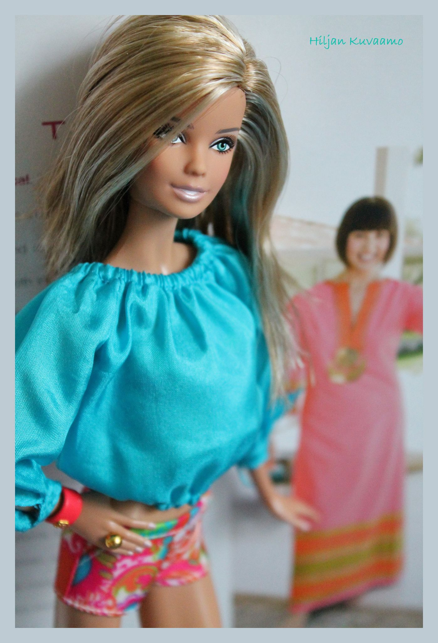 """Malibu Barbie 2013"" by Trina Turk | Posted by Hiljan Kuvaamo | 8 August 2013"
