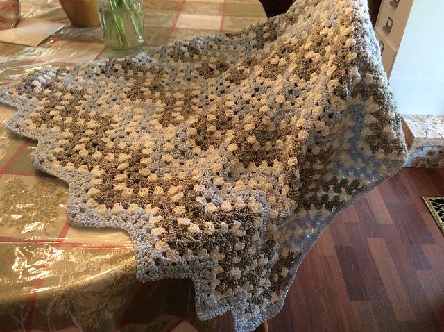 Cozy & Free Ripple Waves Baby Blanket Crochet Pattern! Download PDF ...