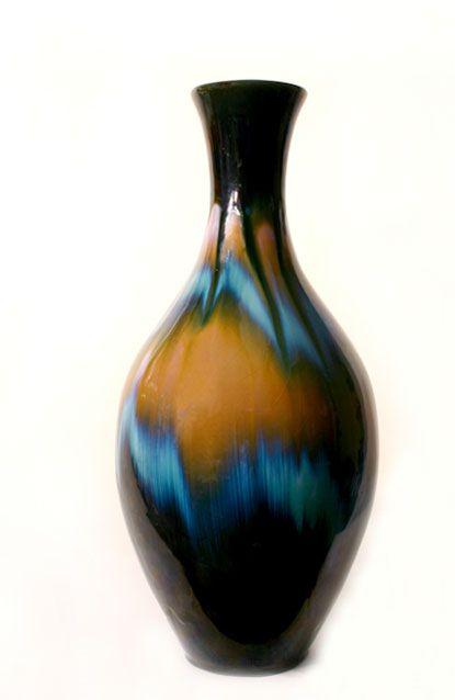 Ccc Large Vase Dennis Tupy Canadian Ceramics Company