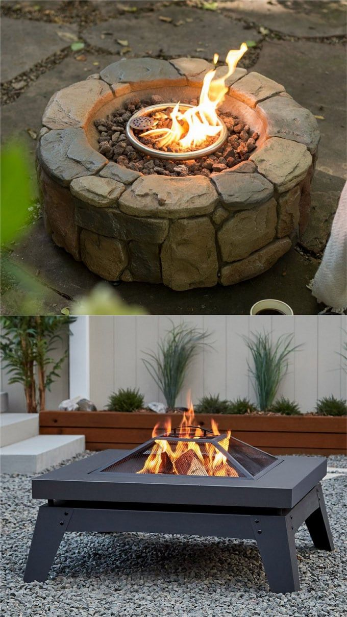 24 Best Fire Pit Ideas To DIY Or Buy ( Lots Of Pro Tips | Fire Pit Grill,  Wood Burning Fire Pit And Wood Burning Fires