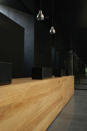 #architecture #design #interiors commercial #reception desk - G Ateliers Architecture — Fernando Botero Library Park