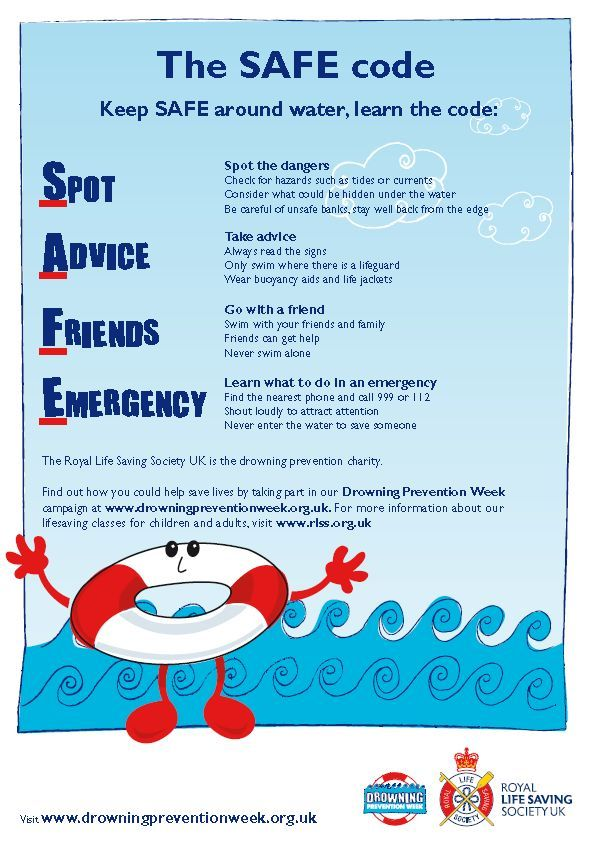 The Safe Code Water Lifesaving Lifeguards Watersafety