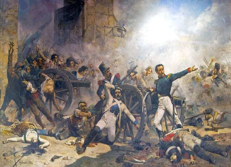 """Second of May 1808: the defenders of Monteleón make their last stand"", Joaquín Sorolla"