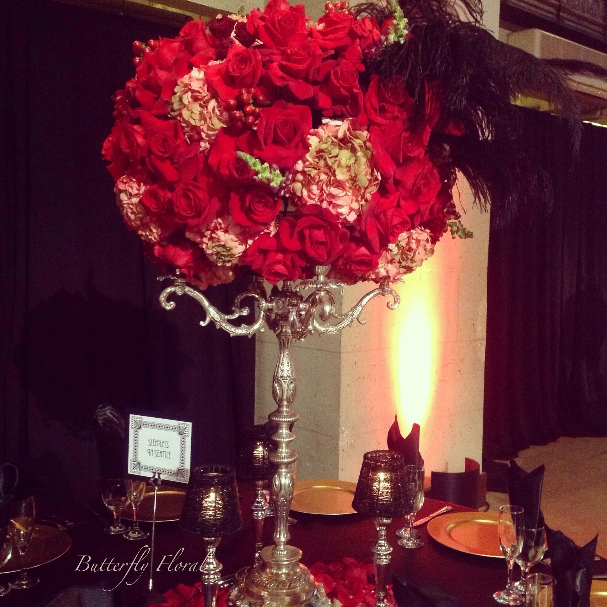 Old Hollywood Themed Centerpiece In 2019