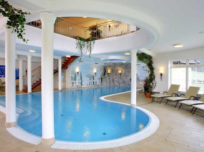 Pool Inside The Hotel For The Indoor Outdoor Boundaries