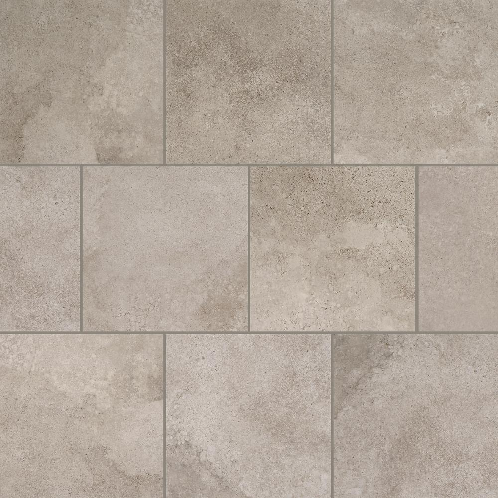 Daltile Hastings Gray 12 In X 12 In Glazed Porcelain Floor And Wall Tile 14 55 Sq Ft Case Sl251212hd1p6 The Home Depot Porcelain Flooring Daltile Wall Tiles
