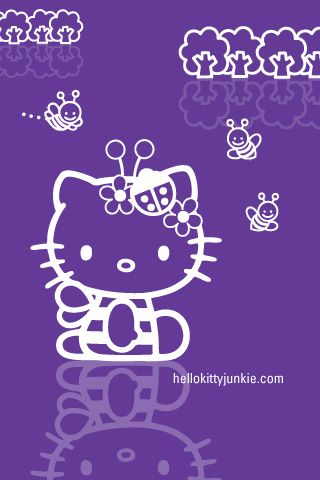 Busy Bee Hello Kitty Hello Kitty Iphone Wallpaper Hello Kitty