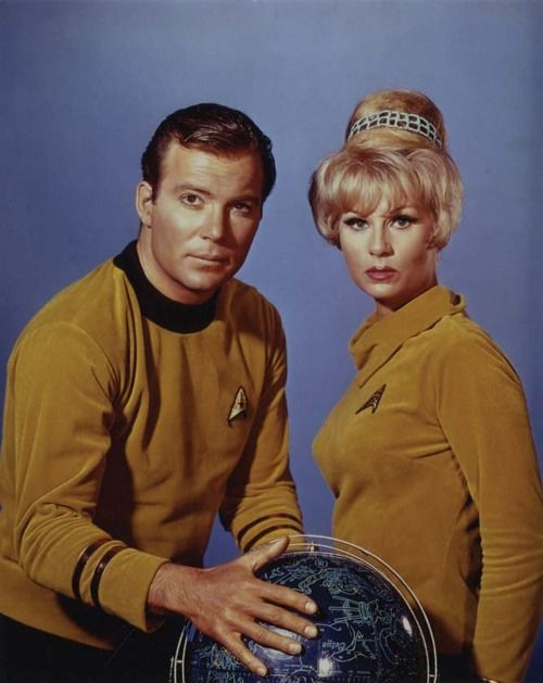 Shatner. Star Trek.Via William Forsche.