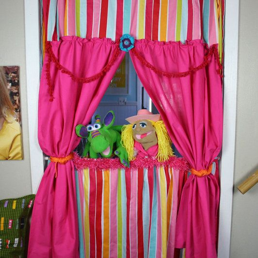 Door Puppet Theatre I Could Change A Couple Things Here