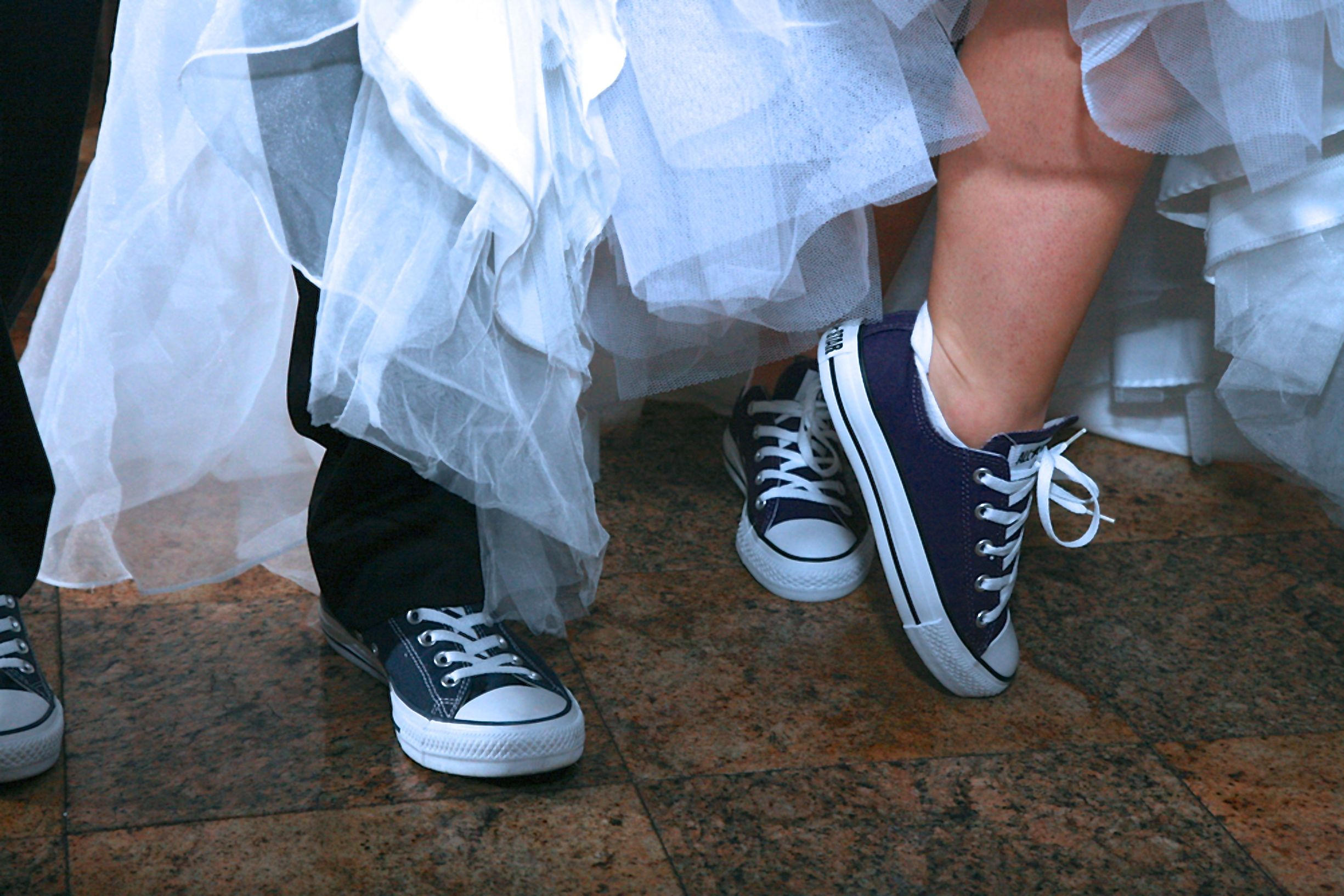 Our Wedding Shoes- Converse Chuck Taylor\'s | My Wedding | Pinterest ...