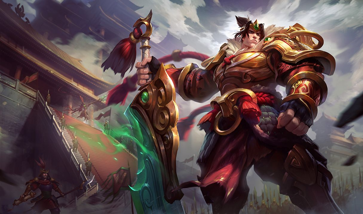 Download Jade Dragon Wukong New Splash Art Skin 1920x1080 | Encante |  Pinterest | Jade and Dragons