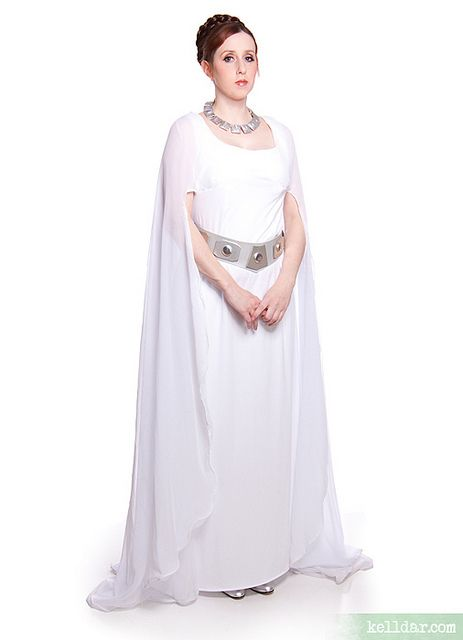 my ceremonial princess leia costume star wars from 2007. Black Bedroom Furniture Sets. Home Design Ideas