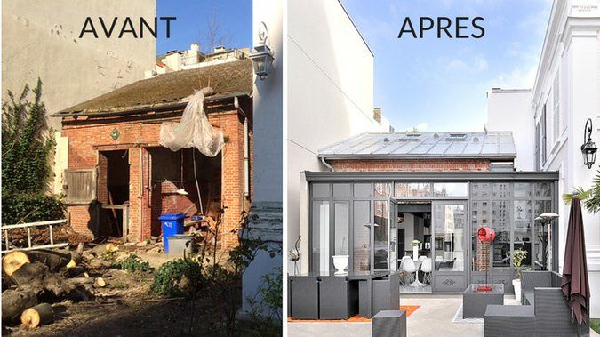 Avant apr s transformer une ancienne curie en pi ce - Photo maison renovee avant apres ...