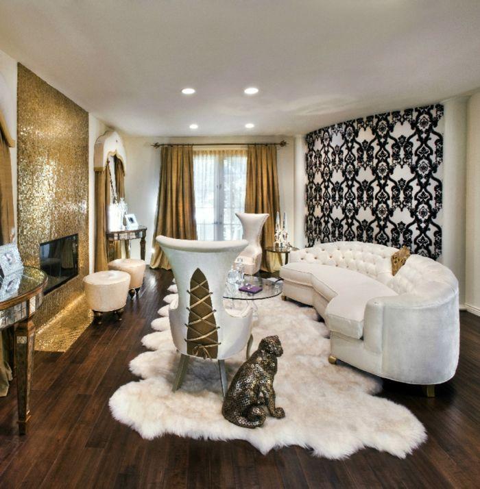 einrichtungsbeispiele raumgestaltung inneneinrichtung ideen - wohnideen barock und modern