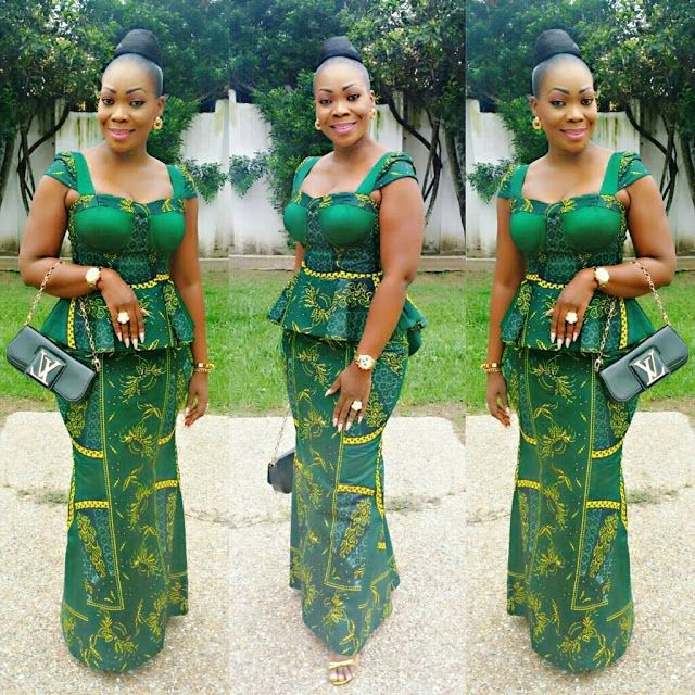 57e185b3d2f997 Just Check out This Classical Ankara Skirt And Blouse Styles   Fittess –  DeZango Fashion Zone
