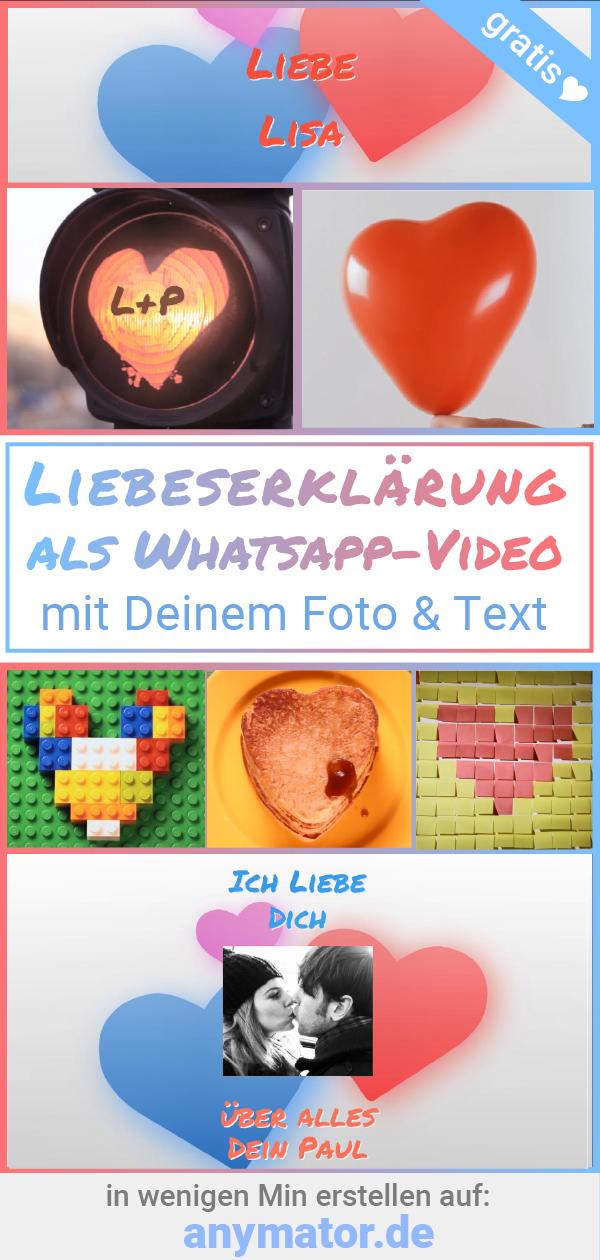 Sende Deine Whatsapp Liebeserklärung An Deinen Schatz In