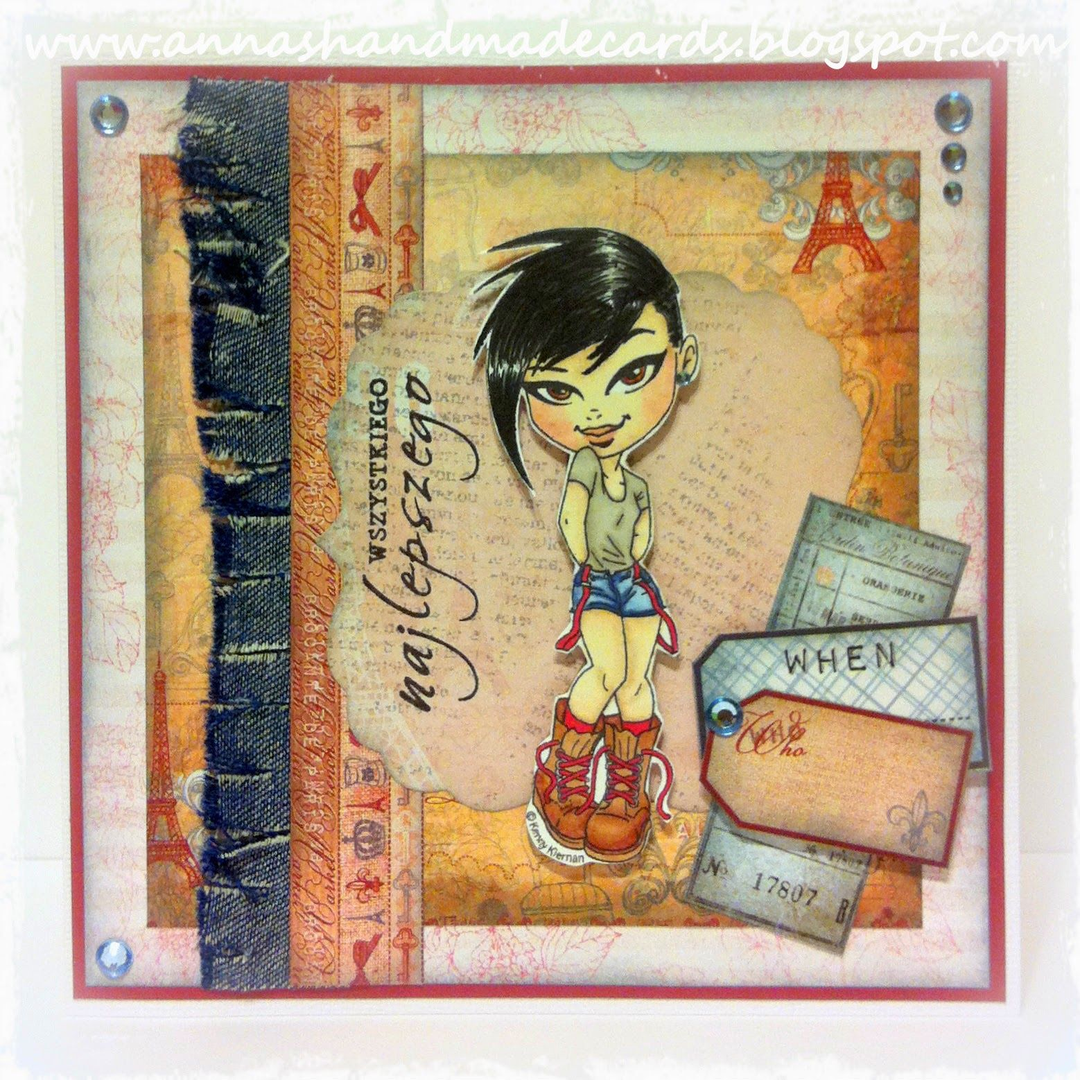 Anna's Handmade Cards: How to: look cool