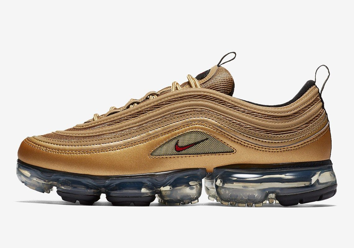 finest selection 09372 3bfcb Nike Air VaporMax 97 ''Metallic Gold'' Release Date | Kicks ...