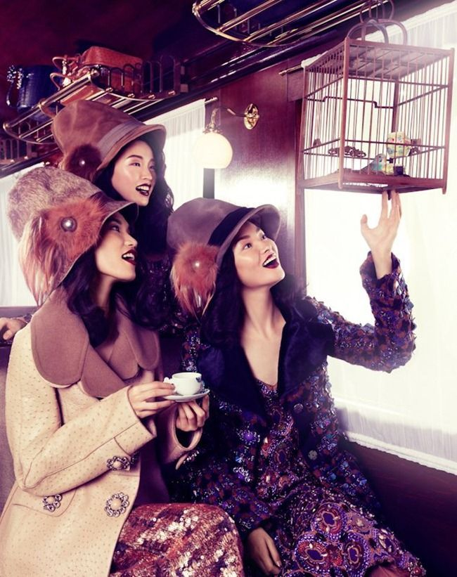 VOGUE CHINA COLLECTIONS Orient Express