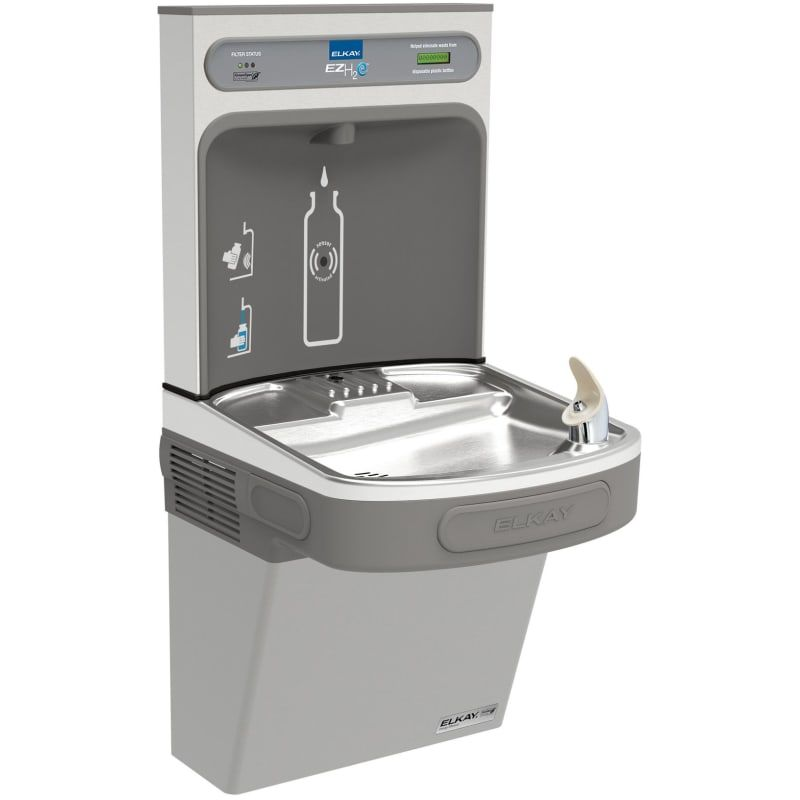Elkay Lzsg8wsk Drinking Fountain Filling Station Water Coolers