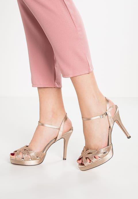 hacer un pedido disfruta del precio inferior correr zapatos Menbur Sandalias con plataforma - piedra - Zalando.es ...