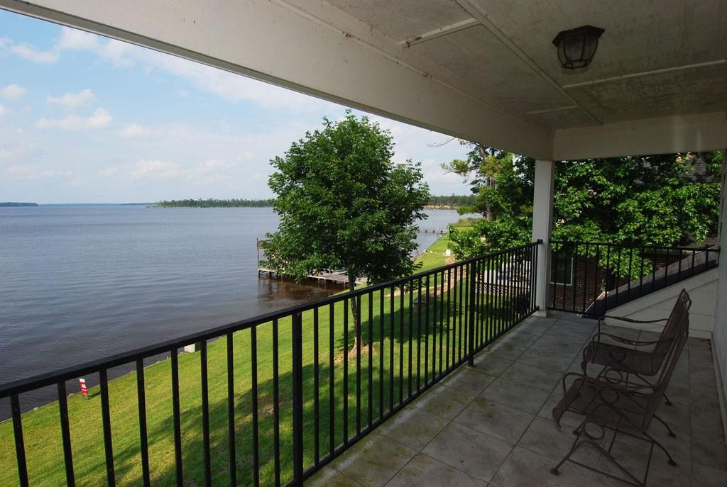 $369,900  Best view on the lake.  Overlooks deep water cove & open view of Lake.