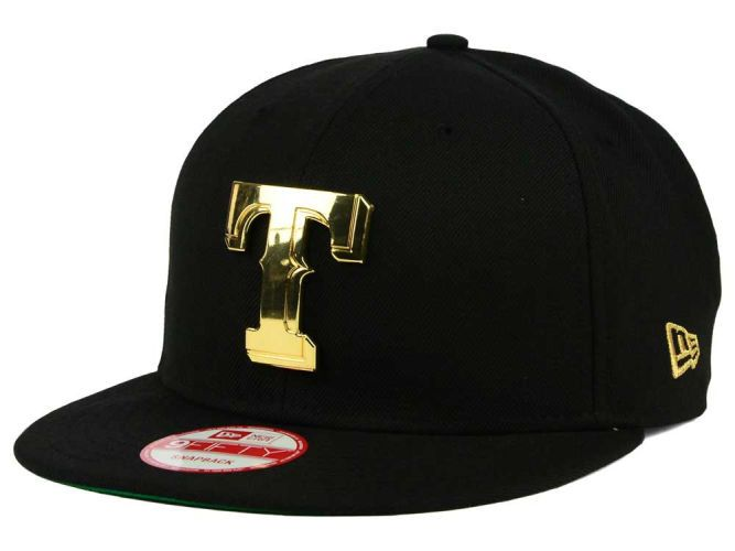 9df9ab62d19 Texas Rangers New Era MLB League O Gold 9FIFTY Snapback Cap Hats ...