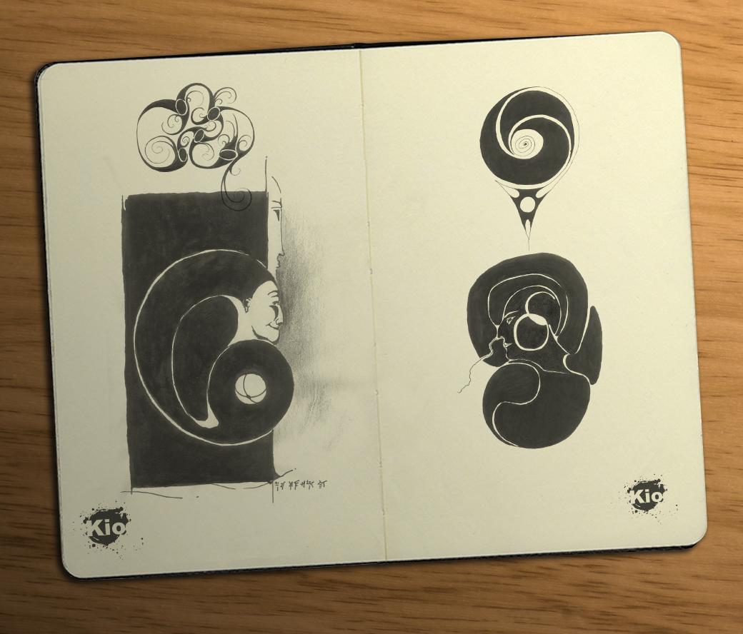 Несколько эскизов | Антон Кио
