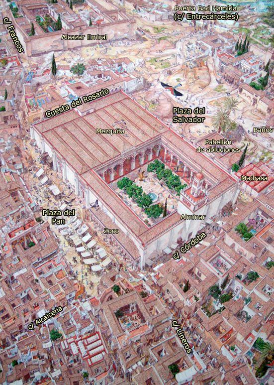Resultado de imagen de plaza SALVADOR SEVILLA plano mezquita
