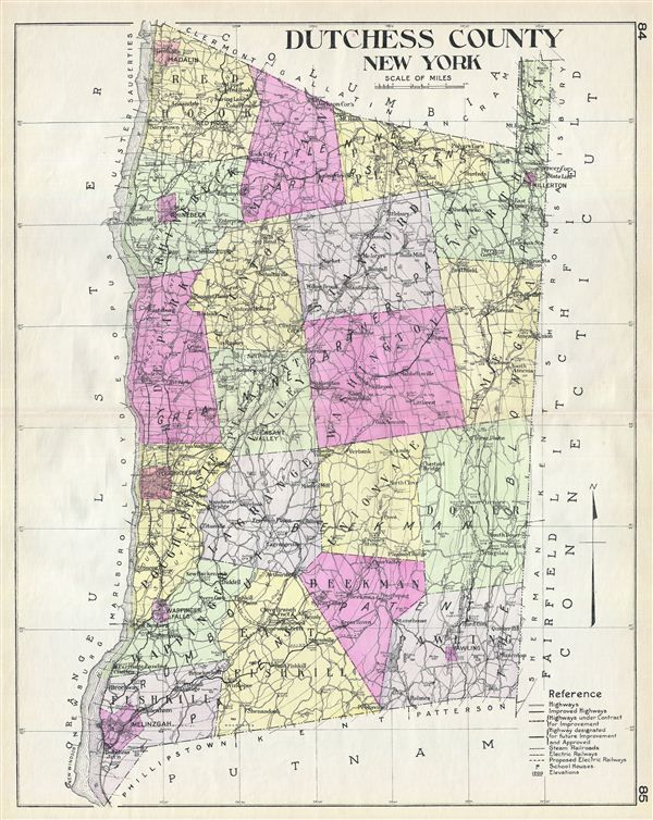Dutchess County Map | Map of Dutchess County New York  |New York Dutchess County Soils Maps