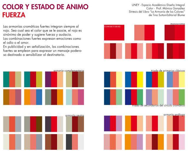 coloruney: La Armonía de los Colores-Psicología | Colors | Pinterest