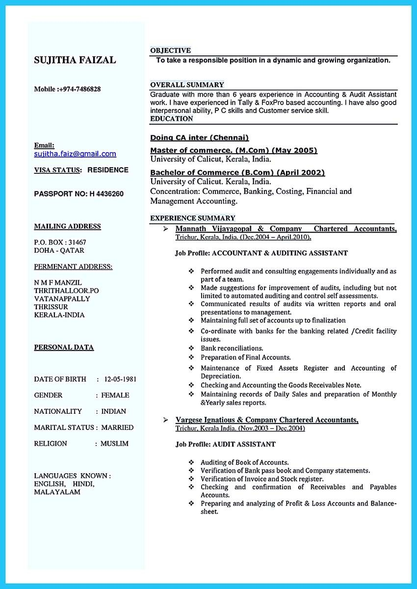 Nice Making A Concise Credential Audit Resume Check More At Http