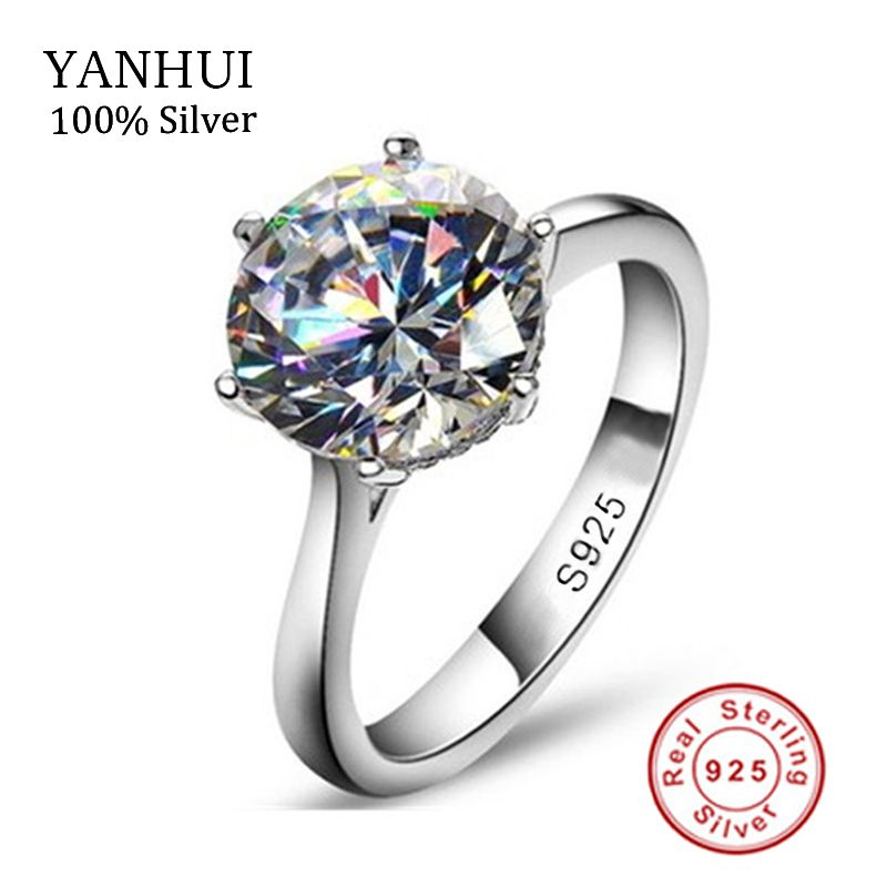 Luxury 2 Carat Nscd Synthetische Simulierten Diamant Ring Fur Frauen