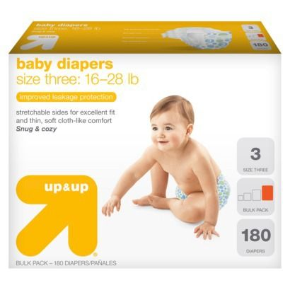 Target Up Up Diapers For 12 49 Per Box After Coupons Baby